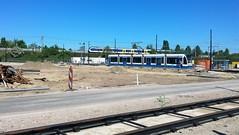 lijn 9 (2) (Peter ( phonepics only) Eijkman) Tags: amsterdam city combino gvb diemen tram transport trams tramtracks trolley rail rails streetcars strassenbahn nederland nederlandse netherlands noordholland holland