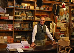 Beamish (grab a shot) Tags: beamish england uk beamishmuseum countydurham 1925 victorian edwardian livinghistory oldfashioned vintage openairmuseum town christmas 2017 canoneos7d shop hardware indoor man