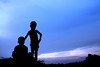 Images from Rural Bengal (pallab seth) Tags: bluehour dusk silhouette landscape bengal india