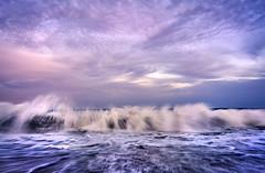 Blacksea...2 Mai beach... (silviu_z) Tags: waves blacksea 2 mai romania clouds storm ilce7rm3 sony zeiss loxia21 natural naturaleza natur water waterscape sea sunsey sundown bay mar