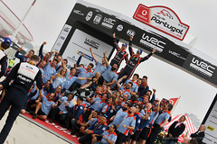 Thierry Neuville - Nicolas Gilsoul (Martin Hlinka Photography) Tags: wrc vodafone rally de portugal 2018 world championship sport motorsport action canon thierry neuville nicolas gilsoul hyundai i20 coupe ceremonial finish