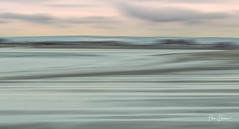 Lanstone Harbour entrance on a dull day (Peter H 01) Tags: opoty outdoorphotography harbour sand sea fineart art pastel abstract langstoneharbour beach icm
