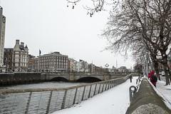 18MAR01 SLYNNLEE-6343 (Suni Lynn Lee) Tags: dublin ireland beastfromtheeast winter snow cold blizzard city street