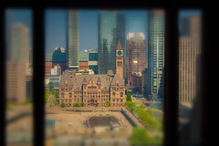 Old City Hall (A Great Capture) Tags: history historic cityscape urbanscape eos digital dslr lens canon 70d sigma outdoor outdoors depthoffield dof agreatcapture agc wwwagreatcapturecom adjm ash2276 ashleylduffus ald mobilejay jamesmitchell toronto on ontario canada canadian photographer northamerica torontoexplore spring springtime printemps 2018 2017 winter l'hiver old city hall day reflection mirror glass reflections cityhall clocktower tower clock buildings doorsopen dot18 canadalife nathanphillipssquare window 17th floor view building doorsopentoronto