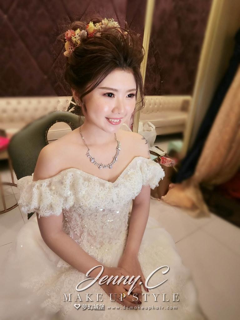 【新秘蓁妮】bride宜楹 訂結婚造型 / 台中僑園飯店
