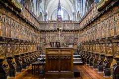 Catedral de Zamora, coro (ipomar47) Tags: zamora cathedral spain catedral españa romanico duero monumento nacional