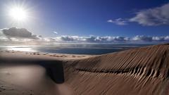 The most beautiful dune of the world (GComS) Tags: dune sable océan mer sand sea ocean atlantic paix paysage landscape soleil sun nuage cloud ciel sky arguin banc pila pilat pyla ombre shadow