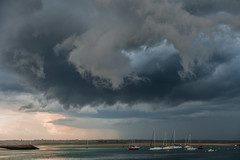 Grand Traict du Croisic (sebastien.voisine) Tags: bateaux lecroisic penbron océanatlantique voiliers nuages orage clouds sky ciel storm boats