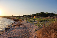 Atardecer en Ca Marí (alvarogf18) Tags: costa mar mediterráneo see coast sunset atardecer formentera