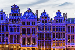 Brussels; Grand Place (drasphotography) Tags: brussels brüssel bruxelles architecture architektur grand place oldtown blue hour travel travelphotography reise reisefotografie marktplatz fassade drasphotography nikon d810 nikkor2470mmf28 urban city cityscape