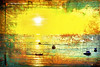 I went fishing with Salvador Dalí (1crzqbn) Tags: sliderssunday sunrise dawn boats fishing textures