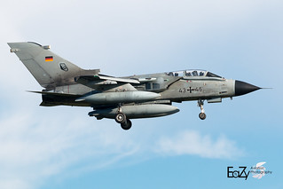 43+46 German Air Force (Luftwaffe) Panavia Tornado IDS