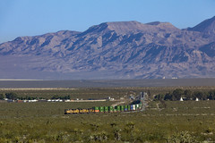 A Rare Westbound Z-Train (zwsplac) Tags: up uprr union pacific cima subdiviaion hill mountain california nipton emd sd70m zbrlcd detour stack intermodal train railroad mojave desert national preserve