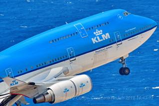 KLM, BOEING 747-406, PH-BFG, TNCC, 10JUN2018