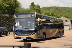 SW 26102 @ Pontypridd bus station (ianjpoole) Tags: stagecoach wales alexander dennis enviro 200mmc yx66wjl 26102 working gold route 132 tresillian way cardiff maerdy terminus