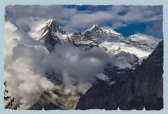 Wetterhorn - Mittelhorn - Rosenhorn (Alpes Bernoises - Suisse) (jamesreed68) Tags: alpes alps suisse schweiz mountain montagne paysage nature canon eos 600d bernoise wetterhorn mittelhorn rosenhorn nuage groupenuagesetciel