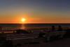 Around sunset: Zandvoort aan Zee (H. Bos) Tags: zandvoort zandvoortaanzee amsterdambeach strand beach zee sea sunset zonsondergang