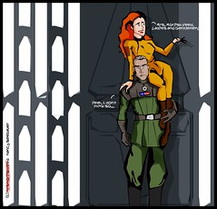 mrs morlish veed (~Nancy Riddle Carter~) Tags: star wars drawing art fun morlish moff veed legacy era mandalorian prisoner