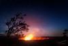 Halemaʻumaʻu Crater (Gary Randall) Tags: dsc42062 hawaii halemaʻumaʻucrater kilauea milkyway nightphotography stars hilo volcanonationalpark volcano lava