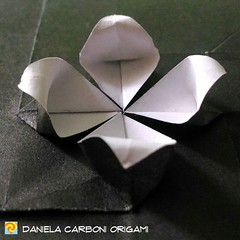 "Origami Challenge 41/365 ""Il fiore di loto sboccia dallo stagno fangoso"" Modello creato nel 2016. ------------------------------------------- ""The lotus flower blooms in the muddy pond"" Model created in 2016.  #origami #cartapiegata #paperfolding #papirof (Nocciola_) Tags: paperart cartapiegata createdandfolded papiroflexia paperfolding originaldesign danielacarboniorigami paper origami"