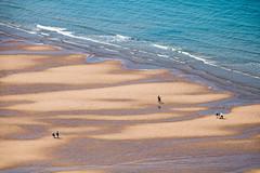 Vue sur la plage (Lucille-bs) Tags: europe france hautsdefrance pasdecalais capblancnez nature paysage mer plage sable