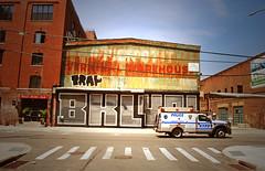 BKLYN (Harry Szpilmann) Tags: brooklyn streetart mural graffiti nypd police truck nyc streetphotography architecture newyork usa