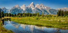 one of the most beautiful places in the world (Sky Noir) Tags: grand teton national park jackson hole valley wyoming summer