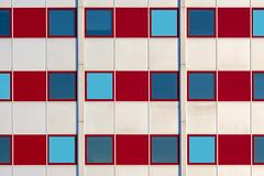 White and red facade (Jan van der Wolf) Tags: map18578v facade gevel windows ramen architecture architectuur white red rood wit rhythm denhaag
