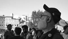 REBEL (Colombaie) Tags: roma pride romapride 2018 gay lgbt lgbtqi bellitalia lazio capitale omosessuale omosessuali eterosessuali lesbica lesbiche famiglia gente persone marciare diritti umani 9giugno ritratto uomo maschio gianni ganorso fori imperiali bn bw