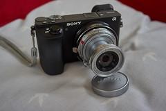 Leica Elmar 50mm F2.8 (Beth at The Hug) Tags: leica elmar 50mm f28 collapsible sony a6500 1958