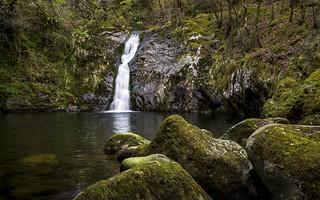 Waterfall near Tal-y-bont