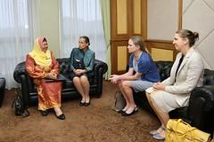 Ambassador Kamala Lakhdhir meet  Minister of Home Affairs Tan Sri Muhyiddin Yassin (United States Embassy Kuala Lumpur) Tags: ambassador kamala lakhdhir meet minister home affairs tan sri muhyiddin yassin