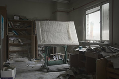 project has been cancelled (jkatanowski) Tags: forgotten abandoned urbex urban exploration europe poland mess window indoor canon sigma 1835mm hdr design office decay dust