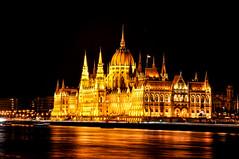 Parliament - Budapest (Valdy71) Tags: budapest hungary parliament travel viaggi nikon valdy night city cityscape light