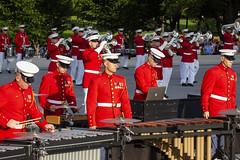 Marine Corps Sunset Parade 12 June 2018  (201) (smata2) Tags: washingtondc dc nationscapital usmc marinecorps military marinesunsetparade drumcorps