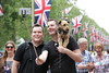 People celebrating Trooping The Colour on The Mall (Ian Press Photography) Tags: dog people celebrating trooping the colour mall color royal royalty hm queen her majesty patriotic england britain britannia flag flags union jack london celebration tradition traditional