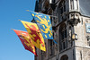 Flags (swissgoldeneagle) Tags: gouda nikond750 nikon hetoudestadhuys nederland stadhuys stadhuysgouda cityhall südholland southholland stadhuis flags niederlande zuidholland rathaus netherlands d750 nikon80400mmvr nl