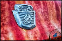 A very old Ford. (drpeterrath) Tags: canon macromondays eos5dsr 5dsr color macro closeup ford logo emblem car auto transportation