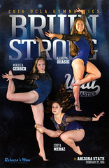 2016 UCLA Women's Gymnastics - Gerber, Ohashi, Meraz (bruin805) Tags: ucla bruins gymnastics womensgymnastics pac12 katelynohashi mikaelagerber sonyameraz