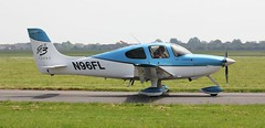 Cirrus SR-22 N96FL Lee on Solent Airfield 2018 (SupaSmokey) Tags: cirrus sr22 n96fl lee solent airfield 2018