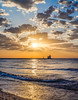 Show Me Your Wonder (PopsDigital) Tags: lighthouse pier harbor kewaunee wi wisconsin sunrise earlymorning morning early dawn landscape lakemichigan water lake sun clouds blue orange reflection billpevlor popsdigital color colour waves sky light kewauneecounty doorcounty silhouette portrait panorama panoramic beach sand pebbles sonyslta77v