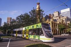 St Vincents Plaza (andrewsurgenor) Tags: transit transport publictransport electric streetscenes citytransport city urban trams streetcars trolleys melbourne victoria australia