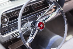 Dual Spoke (cameronestrada) Tags: cameron estrada larz anderson cadillac day 2018 vintage antique car vehicle automobile interior detail macro steering wheel