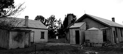 Yanga Woolshed out station (bushman58929) Tags: ruins derelict australia outback bushman58929 monotones blackwhite travel