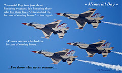 Memorial Day (GSB Photography) Tags: memorialday message usa america f16 usaf thunderbirds falcon unitedstatesairforce washingtondc jointbaseandrews airshow flight aircraft plane jet flying formation d5300 nikon