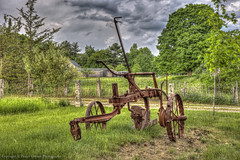 Old farm machine (Pearce Levrais Photography) Tags: farm machine husbandry canon 7d markii hdr landscape country countryside outside outdoor