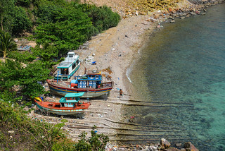 Seascape of Nam Du Island, Vietnam