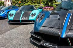 Carbon Dream (Nico K. Photography) Tags: pagani zonda uno huayra bc macchina volante carbon hypercar blue black combo vanishing point 2018 nicokphotography italy stresa