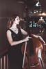 Alessandra (Marcello Iaconetti Photography) Tags: red contrabbasso contrabbassista beauty girl woman ritratto portrait nikon d600 lightroom foyer teatroregiotorino piemonte italia italy 5014 nikkor