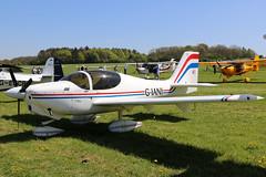 G-IANI (GH@BHD) Tags: giani europaaviation europa europaxs pophammicrolighttradefair2018 pophamairfield popham microlight aircraft aviation